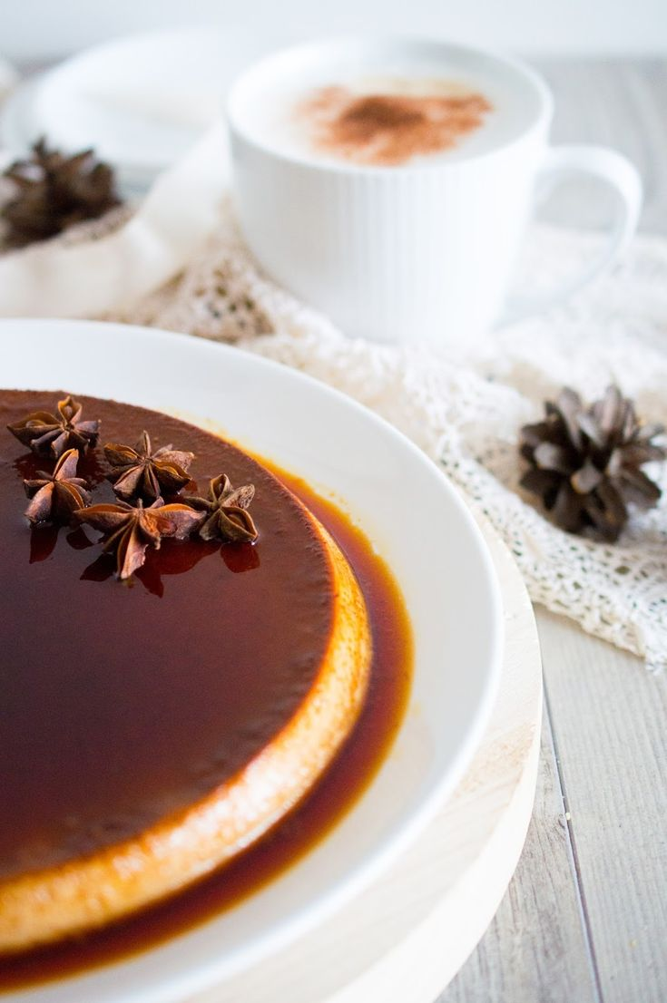 SUGARTOWN: Chai flan se slaným karamelem/Chai flan with salted caramel