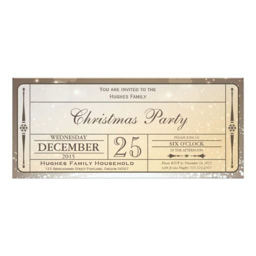 298 best Christmas Party Invitations images on Pinterest