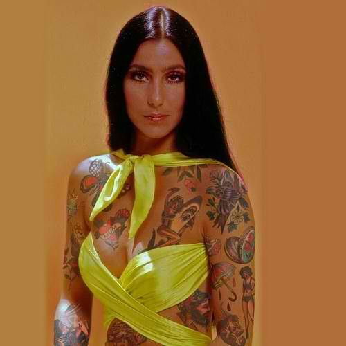 Best Interesting Tattoos Images On Pinterest Artists World - Artist reimagines celebrities covered in tattoos