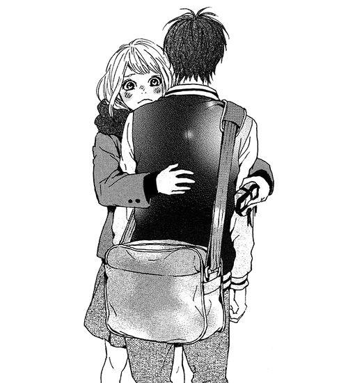 manga couple, hug, takano ichigo