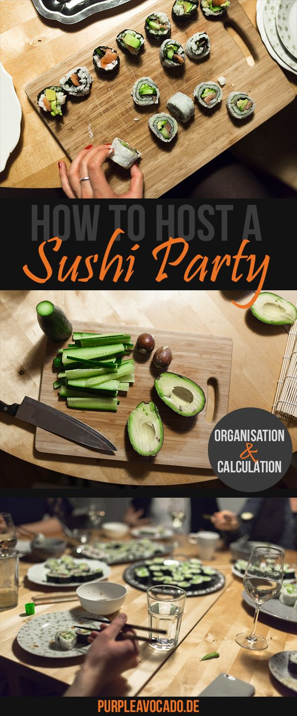 How to host a Sushi Party + Sushi Rice Recipoe                                                                                                                                                                                 More
