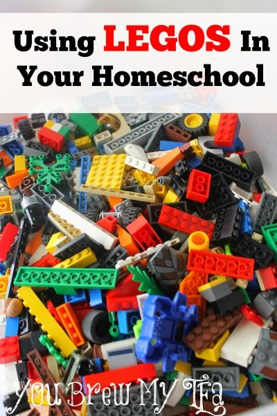 Great homeschool lessons using Legos in your classroom are ideal for a kid that has a hard time focusing!  Lego's are perfect for math, color recognition, and more!