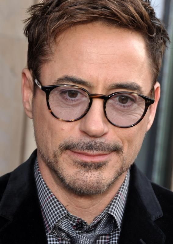 Robert Downey Jr - I heart these glasses!