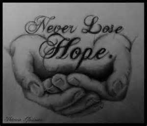 Never Lose Hope Quotes - Profile Picture Quotes