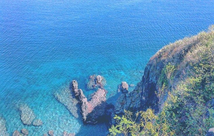 Foto Wisata Pantai Malimbu Hill Lombok Dari Atas