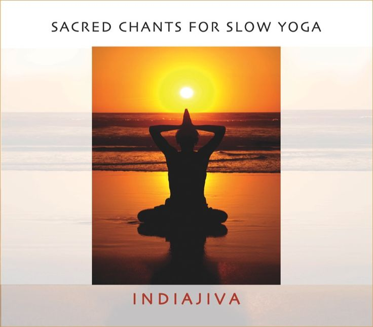 CD: Sacred Chants for Slow Yoga AUD $20 Produced and performed by the IndiaJiva team of Ron Ragel and Vicki Hansen.  This collection of mantras and prayers from the everlasting treasures of the East have inspired millions of listeners with their power and beauty. In this collection they offer an uplifting and beautiful selection of songs in celebration of Peace and Universal Love.