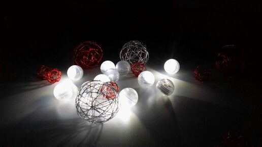 Fairy berries led party lights perfect table setting