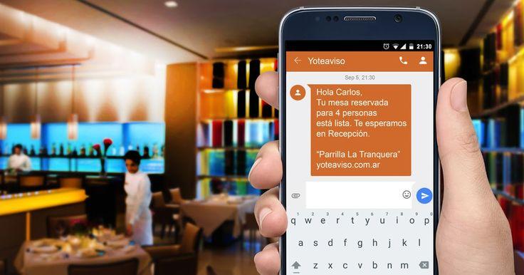 """http://ift.tt/2iJ7E3A http://ift.tt/2iJ7IjQYoTeAviso es un práctico sistema de envío de SMS pensado para administrar y agilizar las filas de espera y las reservas telefónicas.  En esta acción de bienvenida promotoras de YoTeAviso recorrieron más de 150 restaurantes pubs y bares de los polos gastronómicos de CABA: Palermo Recoleta Puerto Madero Nuñez Las Cañitas Caballito y brindaron una """"gift card"""" de $200 en crédito para utilizar el equivalente a 100 SMS. Con este obsequio los interesados…"""