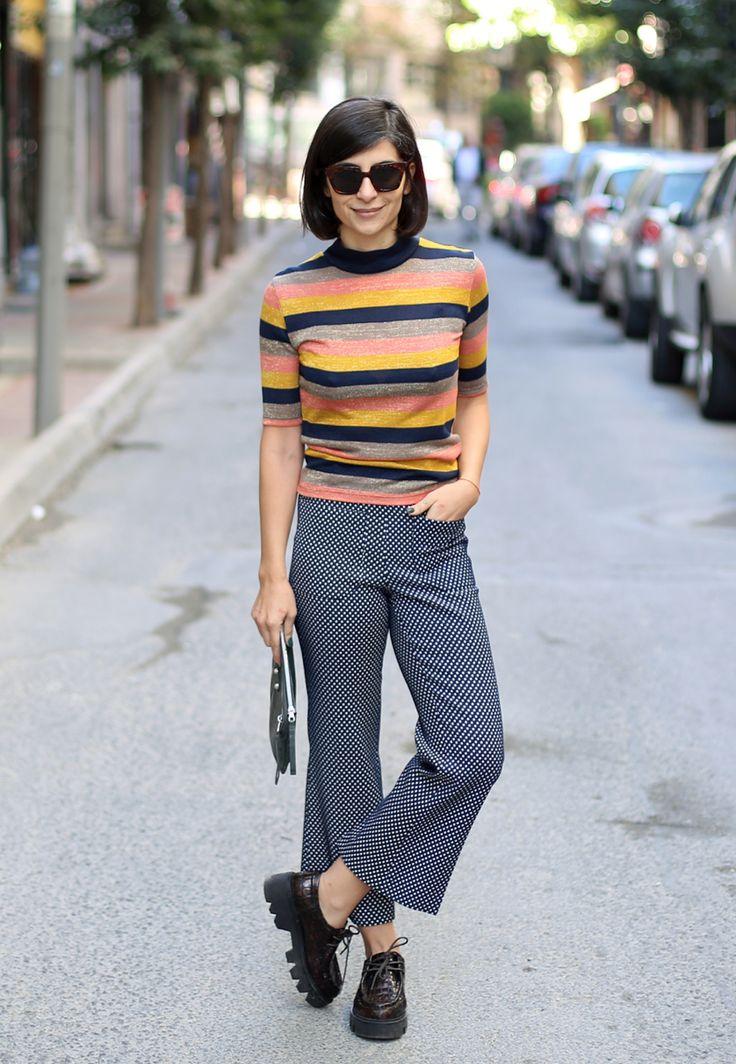 Iconjane Istanbul Street Style Mix Match Gtl Pinterest Zapatos