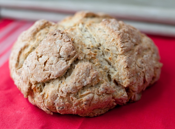 Irish caraway bread.Irlandzki chleb kminkowy.
