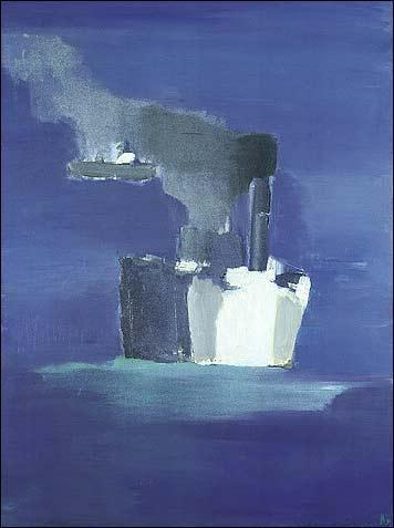 Nicolas de Stael: bateau