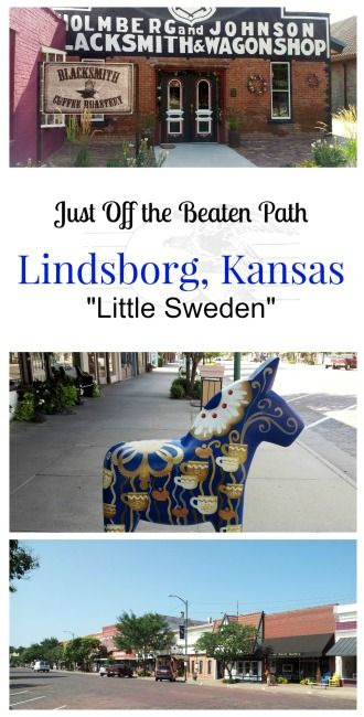 "Just Off the Beaten Path is Lindsborg, Kansas aka ""Little Sweden"" between Wichita and Salina. Find out why it's a fun place to stop and explore"