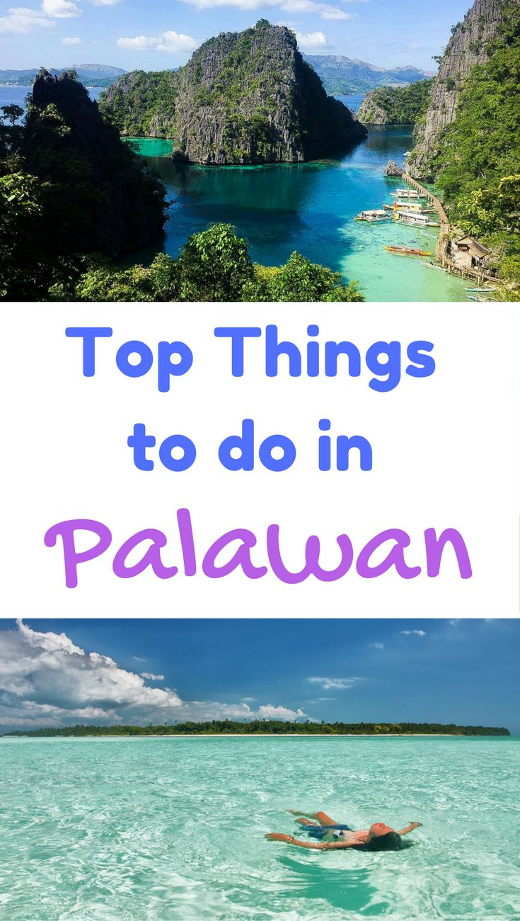 The best things to do in Palawan, Philippines. *********************************************************************** Palawan Philippines Things To Do Islands | Palawan Philippines Hotels | Palawan Philippines El Nido | Palawan Philippines Coron | Palawan Philippines Travel | Palawan Philippines Travel Paradise | Palawan Philippines  Bucket Lists | Palawan Philippines Islands | Palawan Philippines Resorts | Palawan Itinerary Philippines | Palawan Itinerary Tips | Palawan Itinerary Travel