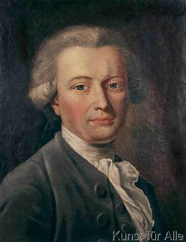 Johann Heinrich Wilhelm Tischbein - Georg Forster / Tischbein