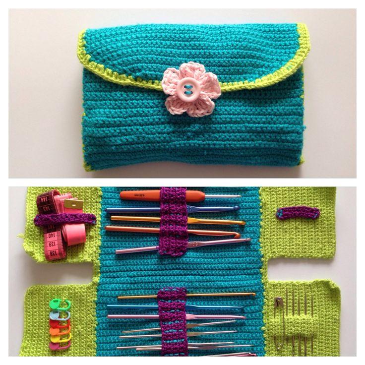 Buy Yarn To DIY http://www.aliexpress.com/store/1687168How to crochet hook case
