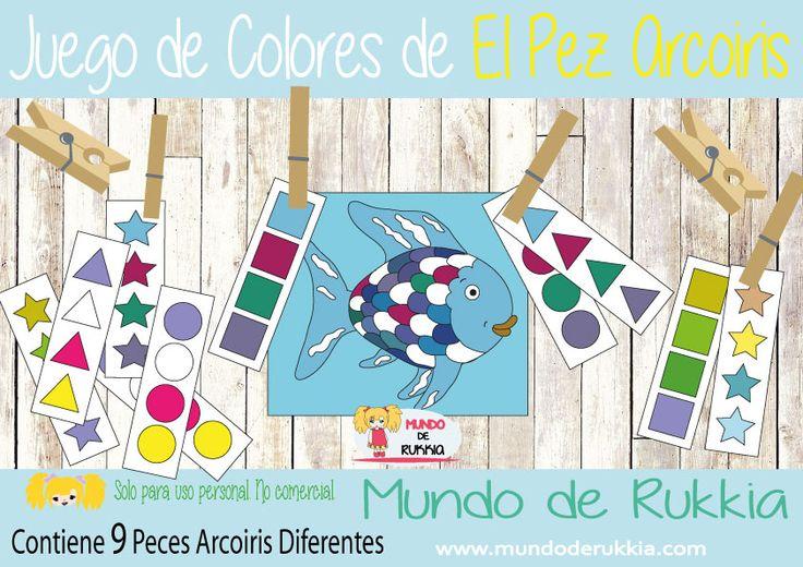 el pez arcoiris cuento, el pez arcoiris manualidad, el pez arcoiris actividades…