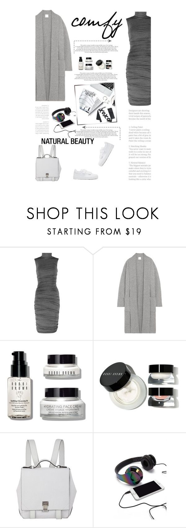 """""""Untitled #2861"""" by amimcqueen ❤ liked on Polyvore featuring Bailey 44, Madeleine Thompson, Jordan Taylor, Bobbi Brown Cosmetics, Proenza Schouler, Forever 21 and Jil Sander"""