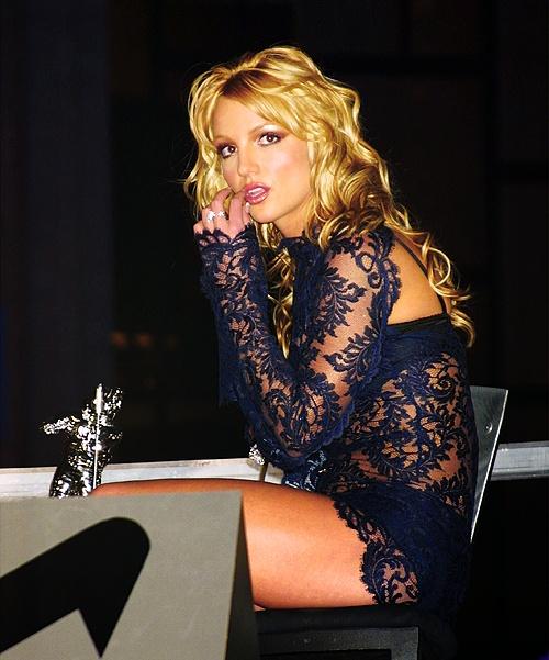 Black Lace Dress Britney Spears 91