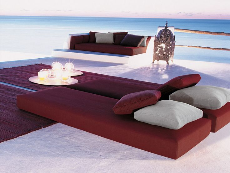 Garden Bed LANDSCAPE By Paola Lenti #outdoor #garden #summer
