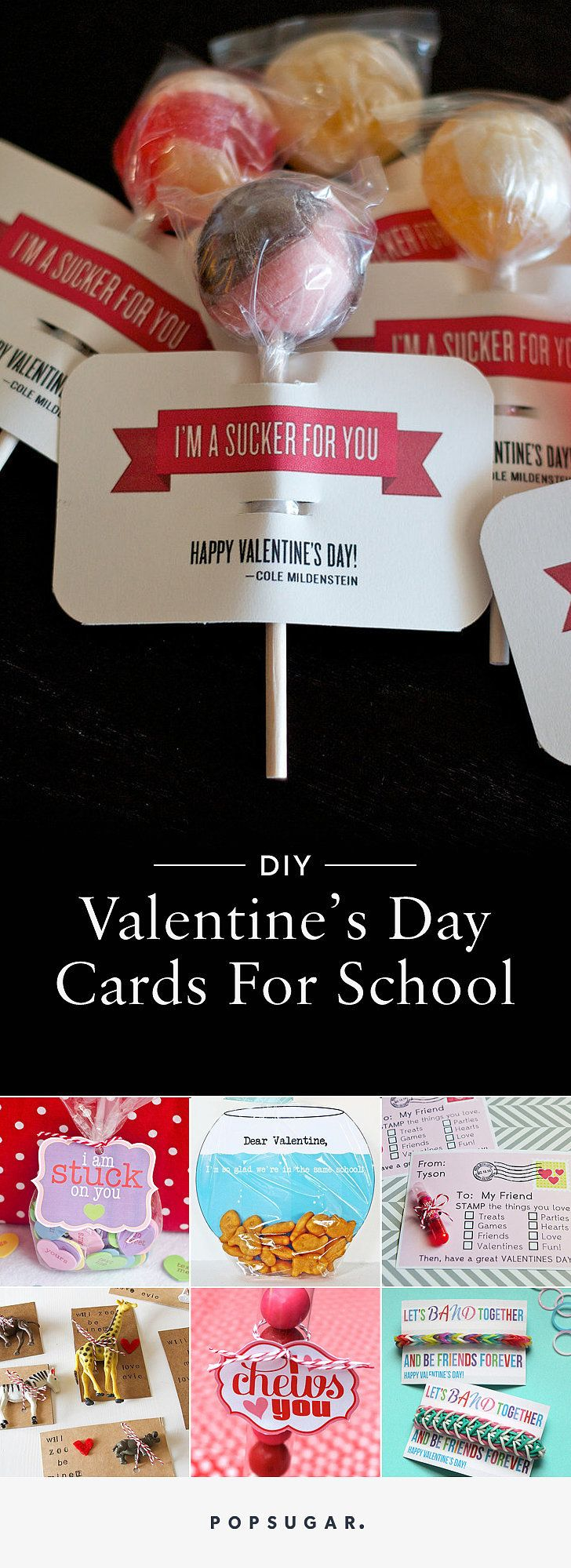 53 DIY Valentine's Day Cards Perfect For the Classroom Party