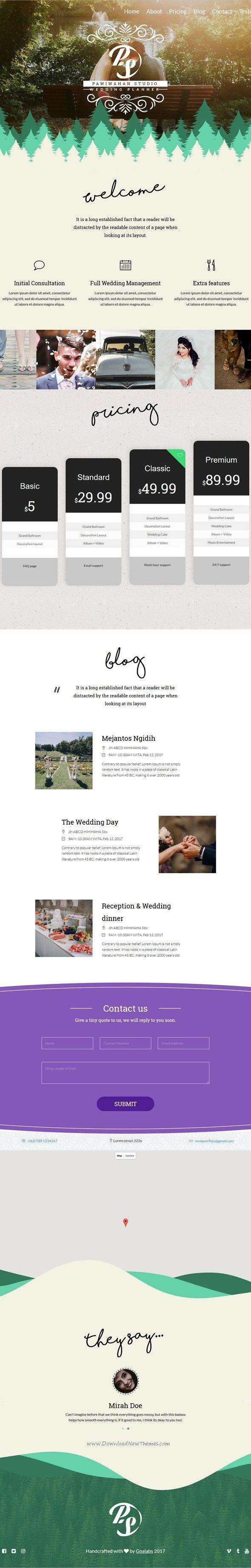 Pawiwahan Onepage Wedding HTML Template 33