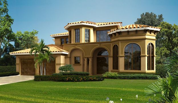 1000 Images About Spanish Mediterranean Home Plans On