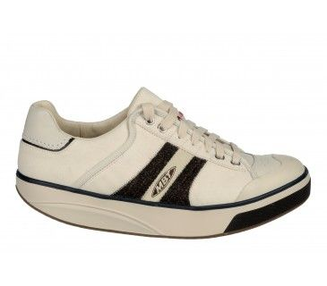 Shoes Outlet - MBT Casual Footwear Masai Sport Tennis Toner Nubuck Leather Walking Sz 10 -10.5 Beige