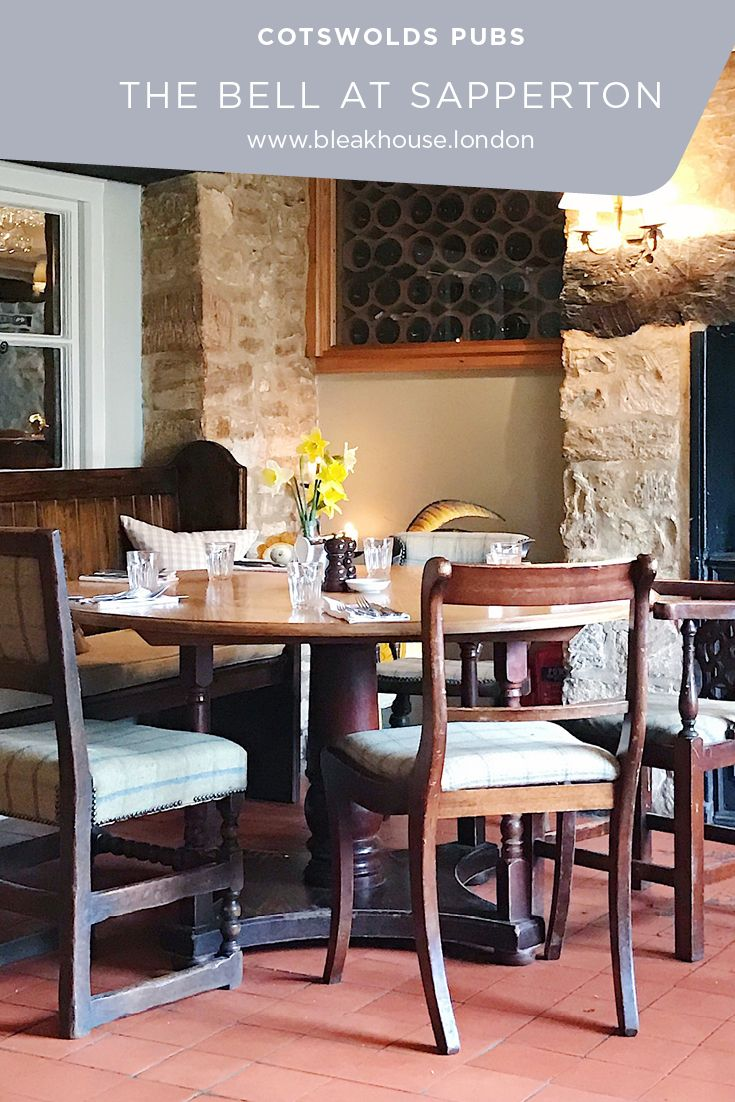 The Bell At Sapperton is a great Cotswolds Pub with good food and cosy pub interior.