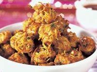 Crunchy pork noodle balls