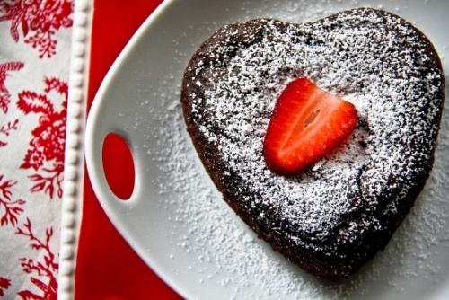 Molten Lava Cake #vegan #glutenfree