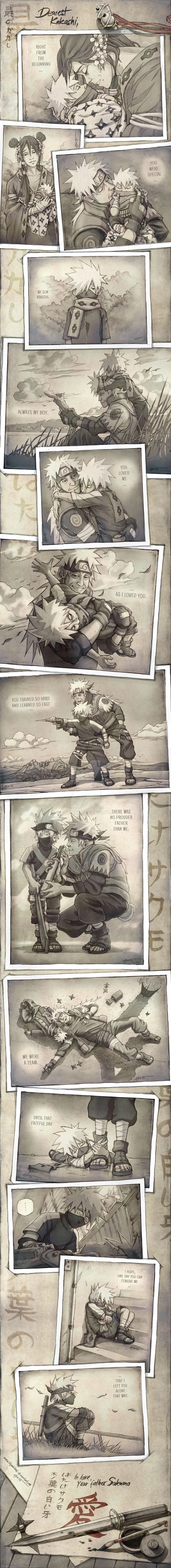 Dearest Kakashi - Letter from Sakumo to his beloved Son Kakashi ...T__T