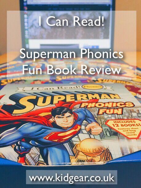 Book Review – Superman Phonics Fun