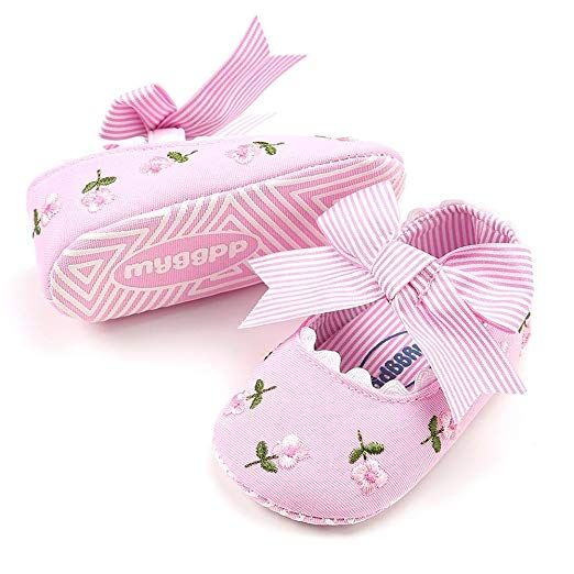 Fashion Baby Girl Embroidery Flower Toddler First Walkers Kid Shoes