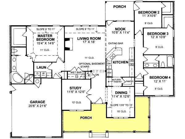 Main Floor Plan Remodel Ideas Pinterest House