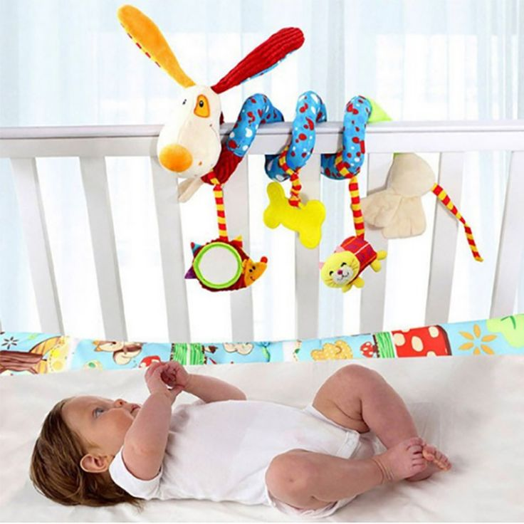 >> Click to Buy << Animal Dog Baby Bed Bumper In Crib For Girls Boys Child Bed Bumpers In Baby Bedding Sets Musical Rattles Toys For Children #Affiliate