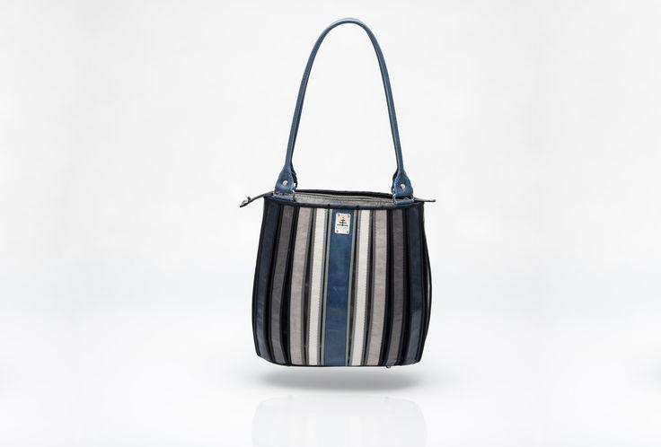 """SHOULDER BAG """"rhythm of stripes"""""""