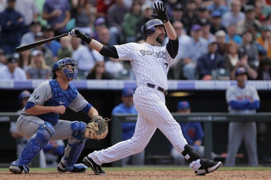 MLB players with the most All-Star Game appearances by team  -  July 7, 2017:     COLORADO ROCKIES: TODD HELTON, TROY TULOWITZKI  -   Todd Helton and Troy Tulowitzki each made five All-Star appearances with the Rockies. All of Helton's appearances came in consecutive years from 2000-2004, while Tulowitzki made his first appearance in 2010 and his fifth appearance in 2015.