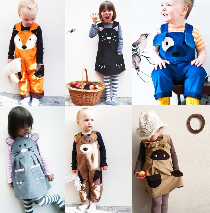 Wild Things Funky Little Dresses Fox Cat Puppy Mouse Bear Pony