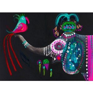 Bento Elephant Wall Art - Available online at everythingbegins.com