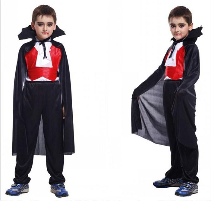 Best Quality New Children Halloween Clothes Vampire Costumes For Kids Boys Classic Halloween Costumes Clothing Polyester Vampire Costume Hc58 At Cheap Price, Online Theme Costume | Dhgate.Com