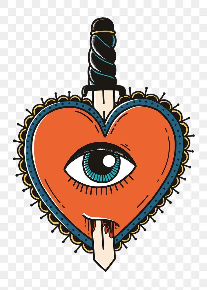 Download Premium Png Of Retro Png Demon Heart Tattoo Design 2746057 Heart Tattoo Heart Tattoo Designs Demon Heart