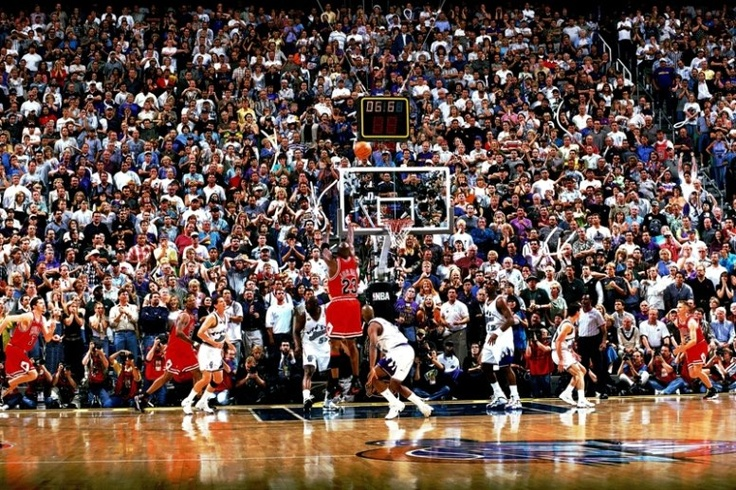 One of my most vivid childhood memories!  MJ is the greatest of all time!