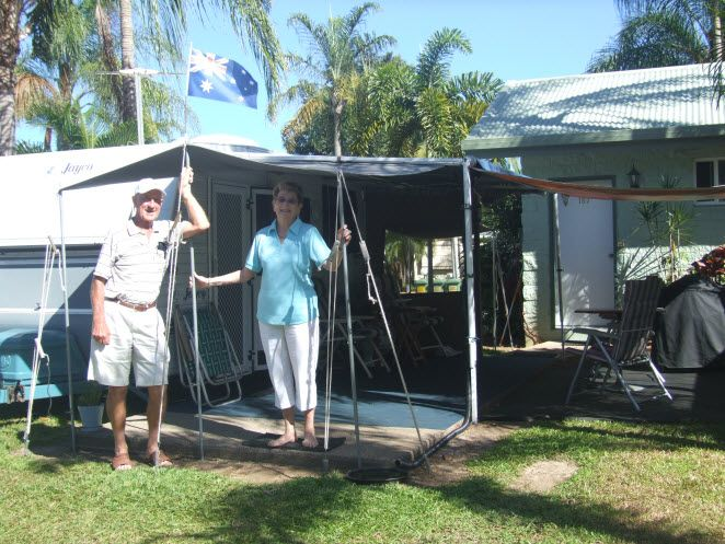 Cairns Coconut Holiday Resort Ensuite Powered Site