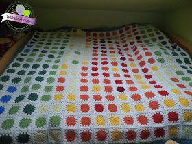 Crochet temperature blanket 2016