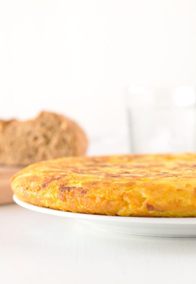 Tortilla de Patatas Vegana   danzadefogones.com