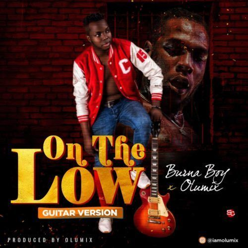Ace producer/artist Olumix decided to do justice to Burna