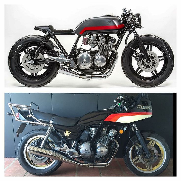 Cafe racer transformation