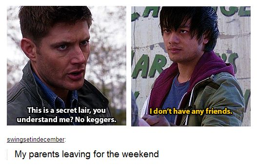 OH MY GOD I just realized cas and Kevin wear the same two coats, or am I going insane?