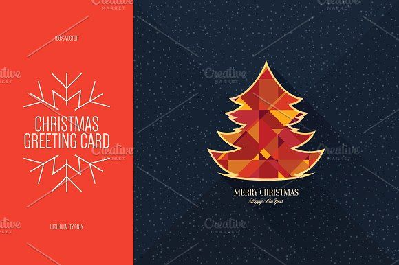 Christmas And New Year Greeting Card New Year Greetings New Year Greeting Cards Greeting Card Template