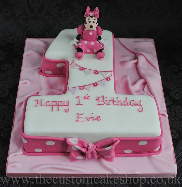 32 Over The Top First Birthday Cakes: 32 Best Number Cakes Images On Pinterest